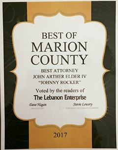 Marion County Attorney Award