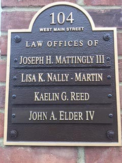Mattingly Nally & Martin Attorneys